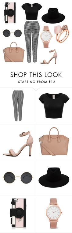 """Casual"" by gracie-norfleet ❤ liked on Polyvore featuring Topshop, Givenchy, rag & bone, Kate Spade, Larsson & Jennings and Michael Kors"