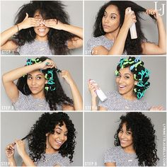 "bgfcommunity: ""I am all about avoiding heat damage (or at least trying). Visit my blog to find out more about heatless curls for natural hair using #flexirods. http://ift.tt/1k7H6hD"" by @lynnettejoselly on Instagram http://ift.tt/1fhycmN"