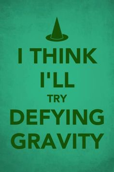 What would Defying Gravity look like in the current situation. In the musical when the song is sung its about being true to yourself and not following the crowd. See other pins on how to use #landscapingyourlife to help provide insight on situations in your working life or personally.