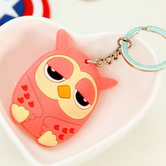 What you get is what you see  Only $ 1.25 &FREE Shipping Worldwide  Get it here --->http://www.honestgem.com/product/cartoon-owl-soft-pvc-keychain/ //   #honestgem #jewelry