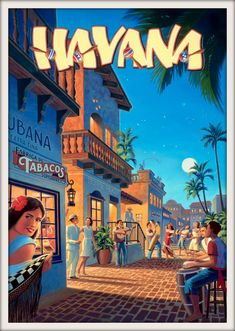★ Come to Havana, Cuba - vintage poster. I ♥ Havana… Havana Party, Havana Nights Party, Cuba Vintage, Vintage Ads, Vintage Havana, Vintage Gifts, Vintage Style, Old Poster, Poster Ads