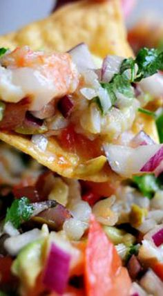 Shrimpo De Gallo Recipe — Dishmaps