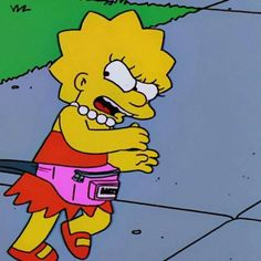 leave me alone Cartoon Wallpaper, Wallpaper Casais, Simpson Wallpaper Iphone, Couple Wallpaper, Tumblr Wallpaper, Lisa Simpsons, Simpson Wave, Best Friend Wallpaper, Matching Wallpaper