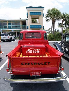 Chevy Truck and Coca Cola..2 of my favorite things :)
