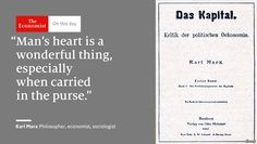 """Elegant in its simplicity Karl Marx's """"Das Kapital"""" was published #OnThisDay 1867 http://econ.st/2diCD1M#Sober Look素材On this day #October 1 2016 at 11:28PM#via IF"""