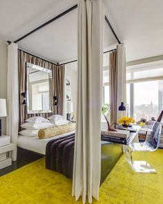 6 Must-Haves for an Opulent, Big City Bedroom via @domainehome