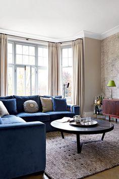 Sofa Design for Small Living Room. sofa Design for Small Living Room. Small Living Room Design, Small Living Rooms, Living Room Designs, Cozy Living, Simple Living, Living Area, Living Spaces, Living Room Color Schemes, Living Room Colors