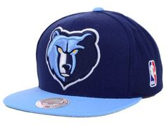 Memphis Grizzlies Blue Snapback