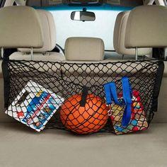 新ブラックナイロン車ハッチバック荷物トランクネットプラス取付hign品質