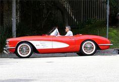 George Clooney - Corvette C1 Convertible
