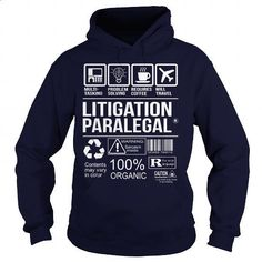 Awesome Tee For Litigation Paralegal - #t shirts #vintage shirts. PURCHASE NOW => https://www.sunfrog.com/LifeStyle/Awesome-Tee-For-Litigation-Paralegal-Navy-Blue-Hoodie.html?60505