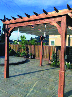 There are lots of pergola designs for you to choose from. You can choose the design based on various factors. First of all you have to decide where you are going to have your pergola and how much shade you want. Diy Pergola, Cedar Pergola Kits, Backyard Canopy, Pergola Canopy, Deck With Pergola, Canopy Outdoor, Outdoor Pergola, Wooden Pergola, Covered Pergola