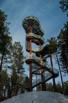 Observation Tower  / Arvydas Gudelis | ArchDaily