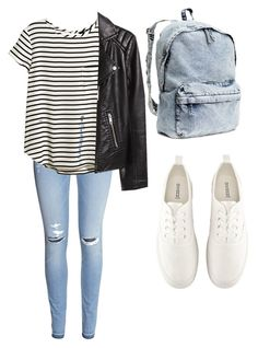 """""""Untitled #46"""" by jkal-shirazi on Polyvore featuring H&M"""