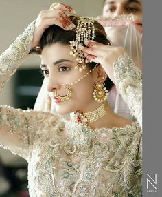 "Most beautiful bride"" Urwa hocane Desi Wedding Dresses, Wedding Wear, Wedding Bride, Bride Groom, Pakistan Bride, Pakistan Wedding, Nikkah Dress, Bridal Photoshoot, Bridal Shoot"