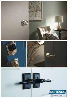 Which product will you choose? Get inspired and enter to new hardware for your entire home in the style & finish of your choice in the Schlage Locks, Diy Projects To Try, Curb Appeal, Shake, Giveaway, Interior Decorating, Hardware, Future, Inspired