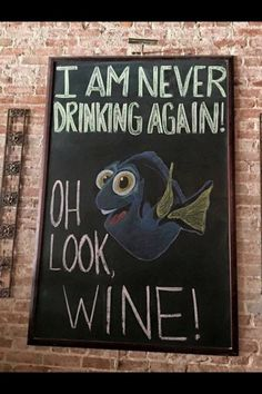 Pretty sure I've said this a few times after a wine filled nite! Lol A little humour to get your Friday started! Haha Funny, Hilarious, Fun Funny, Funny Quotes, Funny Memes, Jokes, Wine Quotes, Wine Time, Chalkboard Art