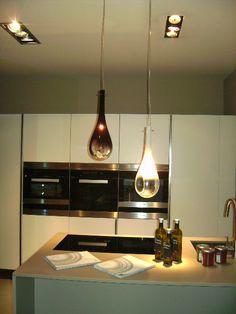 #Goccia #Suspension by Selene Illuminazione #light your #kitchen