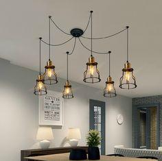 Pendant Lights Beautiful Vintage Colorful Indoor Led Pendant Lights Fixture Luminaire Cafe Bar Restaurant Loft Hanging Lamp Cube Triangle 3d Loft Retro