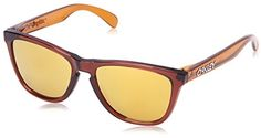 762f672cf0 Oakley Mens Frogskins OO901339 Iridium Wayfarer Sunglasses Brown   Read  more reviews of the product by visiting the link on the image.