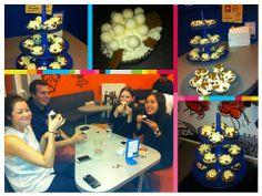 Cupcake day at MSQ <3