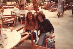 Angus Young and me.