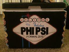 Phi Psi Formal Fraternity Cooler