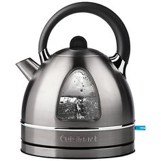 Buy a Cuisinart Traditional Dome Kettle Brushed Stainless Steel Today. Small Appliances, Kitchen Appliances, Kitchens, Traditional Kettles, Cord Storage, Shops, Thing 1, Left And Right Handed, Contemporary Classic