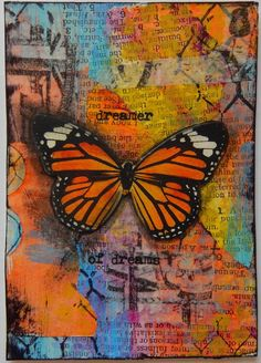 ATC by Christy Houser...great background!