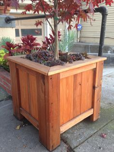 Outdoor Planter Boxes, Patio Planters, Outdoor Furniture, Outdoor Decor, Storage Chest, Sweet Home, Awesome, Etsy, Home Decor