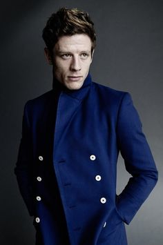 """An interview with James from The Guardian. Photo by Tom Munro.War and Peace actor James Norton has added his voice to the debate that """"posh"""" actors are dominating the profession, arguing that TV producers are afraid to take risks and tend to typecast actors from all walks of life based on the way they speak.Norton, educated at fee-paying Ampleforth College in Yorkshire and the University of Cambridge, believes he could well have been overlooked to play Happy Valley's gritty Yorkshire killer…"""