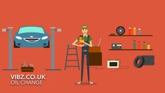 Animated Explainer Videos With Cartoon Animation Characters Oil Change Niche – USA VERSION - Animation Whiteboard Animation Creator, Animation Storyboard, Whiteboard Animation, Car Oil Change, Diy Auto, Auto Gif, Videos, Book Design Layout, Character Modeling