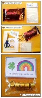 """DIY St. Patrick's Day...""""I'm lucky to have a student like you!"""", or """"This is your lucky day!"""""""
