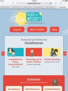 """Completely Free Character Building curriculum from Focus on The Family. """"Kids of Integrity"""" www.kidsofintegrity.com"""