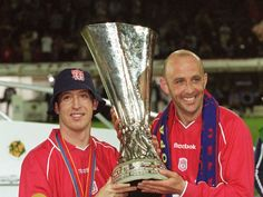 Robbie Fowler & Gary McAllister with