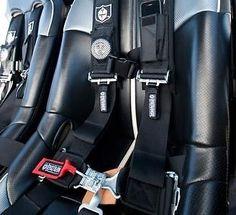 "Pro Armor 4 Point 3/"" Padded Seat Belt Harness Orange PAIR Kawasaki Teryx 750 800"