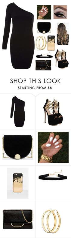"""""""Cryin in the club"""" by b-a-volland ❤ liked on Polyvore featuring WithChic, Ted Baker, Missguided, Louise et Cie and Charlotte Russe"""