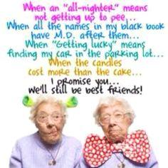 Best friends till the end!