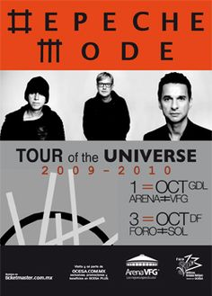 depeche mode. saw them for this tour. i'm in love.