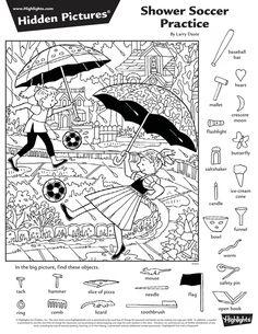 5번째 이미지 Hidden Picture Games, Hidden Picture Puzzles, Hidden Photos, Kindergarten Activities, Activities For Kids, Hidden Pictures Printables, Highlights Hidden Pictures, Coloring Books, Coloring Pages