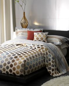 bright, bold & beautiful missoni john sheets & bedding - missoni