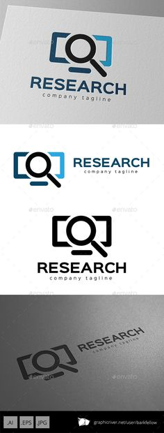 Internet Research Logo Design — Vector EPS #corporate #contact • Available here → https://graphicriver.net/item/internet-research-logo-design/9953868?ref=pxcr