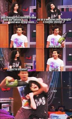 ICarly was so funny! Funny Quotes, Funny Memes, Hilarious, Fandoms, Icarly And Victorious, The Thundermans, Zack E Cody, Drake And Josh, Nickelodeon Shows