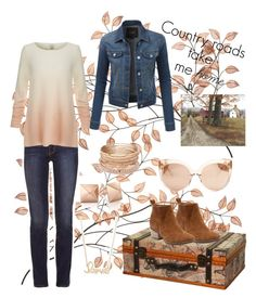 """Untitled #263"" by quinn-kathleen ❤ liked on Polyvore featuring Tory Burch, Joie, LE3NO, Red Camel, Sydney Evan and Linda Farrow"