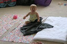 My little baby Clare is off to pre-school this Fall and now she will be all ready with a brand new mommy-made nap mat. But will I be ready? I'm already making up excuses for why she should ma… Sleeping Mats For Kids, Toddler Sleeping Bag, Toddler Nap Mat, Diy Toddler Bed, Sleeping Bags, Portable Toddler Bed, Portable Bed, Diy Toddler Blankets, Nap Mat Tutorial
