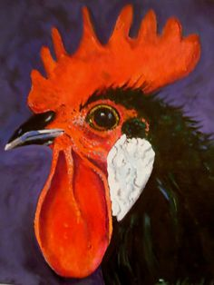 Rooster Comb by Fred Gowland