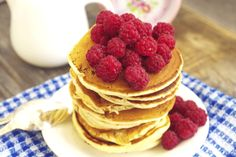 Raspberry and Banana Buckwheat Pancakes: Protect your heart health with this variation of buckwheat pancakes.