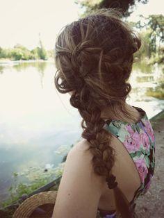 Messy Braid #braid #hair