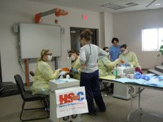 Tunxis Dental Hygiene Program and Lakota Tribe Service Learning/Mission Trip   Sealant application