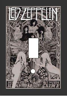 Led Zeppelin cover poster